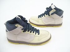 quality design 9fdb5 164bd NIKE WOMENS LADIES BASKETBALL CASUAL TRAINERS SHOES DUNK HIGH GREY YELLOW  US 6.5