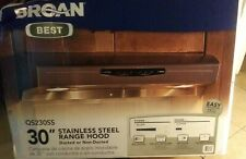 Broan Qs230Ss Allure Ii Under-Cabinet Range Hood, 30-Inch, Stainless Steel