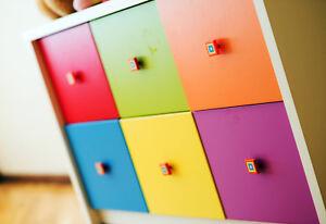 Bunte Möbelfolie Klebefolie GLANZ oder MATT, viele Farben! Oracal 1m2
