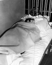 New 8x10 Photo: Papier-Mache Head Ruse in Cell from 1962 Alcatraz Prison Escape