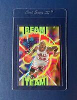 1995-96 TOPPS STADIUM CLUB Beam Team MICHAEL JORDAN