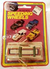Vintage Speeding Wheels 1966 Ford Mustang Coupe off-White Color MOC 1/64 Scale