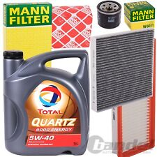 INSPEKTIONSKIT FILTERPAKET+5W40 ��L 1.0 SMART FORTWO 451 CABRIO COUPE 61-102 PS