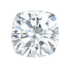 Def Color / Vvs Clarity - 9.0mm 3.50 Ct Loose Moissanite Cushion Stone Colorless