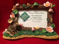 "Charming Tails ""Mouse"" Office Gifts Picture Frame 93/304 New In Box"