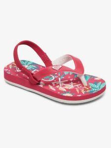 ROXY Sandalen Mädchen Tahiti VI Kleinkinder Freizeit Strandschuhe AROL100005-PIP