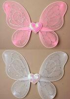 Small Childs Glitter Fairy Wings Fancy Dress Toddlers Kids Wings Angel Wings