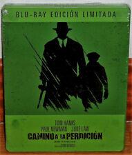 CAMINO A LA PERDICION BLU-RAY STEELBOOK NUEVO PRECINTADO DRAMA (SIN ABRIR) R2