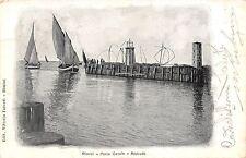 9133) RIMINI, PORTO CANALE RIENTRO DI BARCHE DA PESCA FARO E BILANCIONI VG 190?