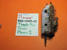 PIONEER ASK-049-0 TOGGLE SWITCH TUNER OR PHONO 1 SELECT SA-9100