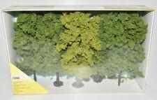 HEKI H0 1990 große Laubbäume 5 Stück Bäume Baumset im Karton NEU in OVP