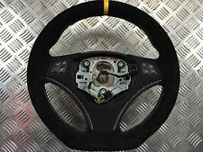 BMW 3 E90 1 E87 M Sport Flat Bottom Alcantara Carbon Steering Wheel Lenkrad