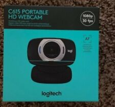 New Logitech C615 HD 1080p Web Cam Black Free USPS Priority Shipping in 24 hours