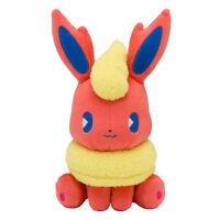 Pokemon Center Original Plush Doll Mix au Lait Flareon JAPAN OFFICIAL