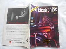 RADIO-ELECTRONICS  Magazine-SEPTEMBER,1959-CITIZEN'S BAND RADIO-HOW THEY WORK