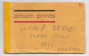 vtg 1960 World Series original snapshots Mantle Maris etc Yankees Pirates Game 2