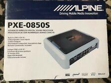 Alpine PXE0850S Advanced Wireless Digital Signal Processor