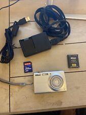 Nikon Coolpix S203 Digital Camera 10 MP Bundle. Camera Lens Error