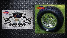 "Club Car DS Golf Cart 6"" A-Arm Lift Kit + 12"" Wheels and 23"" Tires (1982-2003)"