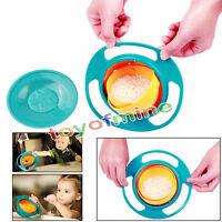 Non Spill Fütterung Kleinkind Gyro Bowl 360 Baby Avoid Lebensmittel Verschütten
