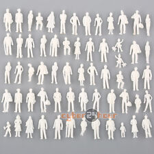 100pc Mix Poses Model Train People Passengers Figures Set Scale TT HO 1:100