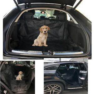Car Boot Liner Waterproof Rear Seat Cover Mat  Dirt Protector Pet Dog Heavy Duty