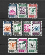 SPANISH MOROCCO 1953. Complete series 10 New stamps**              (5212)