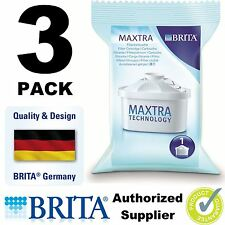 3 x BRITA MAXTRA Water Filter Jug Refills Genuine Replacement Cartridges, 3 Pack