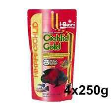 Hikari Cichlid Gold Pellet - Tropical Aquarium Fish Food Floating 250g Medium 4328