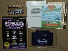 NINTENDO 64 N64 EQUALIZER CHEAT CODE CARTRIDGE ADAPTER CART SYSTEM BOXED - RARE!