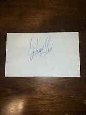 WAYNE LEVI - GOLFER - AUTOGRAPH SIGNED - INDEX CARD -AUTHENTIC - C118