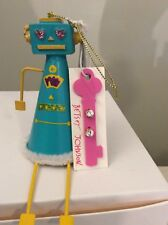Betsey Johnson Robot Ornament And Stud Earrings Holiday Collection (2)