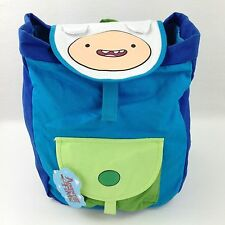 Cartoon Network Adventure Time Finn Draw String Book Bag Backpack 100% Cotton