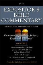 The Expositor's Bible Commentary (Volume 3) - Deuteronomy, Joshua, Judges, Ruth