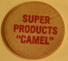 Vintage Super Products Camel Wooden Nickel
