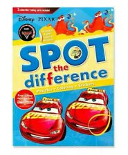 Activity book Disney Pixar Spot the Difference:Includes Super Reward Stickers!