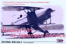 Rising Decals 72076 1/72 Bücker 131 in Japanese Service (8x camo)