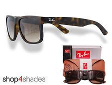Ray Ban Justin Unisex sunglasses Rubber Light Havana_Graduated Brown 4165 710/13