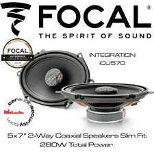 "Focal ICU570 - INTEGRATION 5x7"" 2-Way Coaxial Speakers Slim Fit Kit"