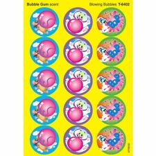Blowing Bubbles/Bubblegum Stinky Stickers® – Large Round Trend Enterprises Inc.