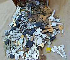Large Lot of  Misc  CAR Key BLANKS  3 lbs ++ Lot of old and vintage