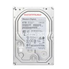 1PC WD HUS726T4TALA6L4 4T hard disk 256MB 7200RPM 3.5inches #XH