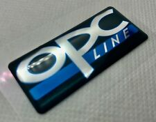 1 pcs. OPC Line badge logo sticker 50x22mm. Domed 3D Stickers/Decals.
