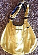 WRANGLER JEANS Women's Buttercream Yellow Canvas Western Handbag Purse bx72