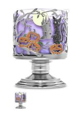 Bath and Body Works (HALLOWEEN NIGHT PEDESTAL) 3-WICK Candle Holder - U.K. Stock