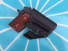 Crazy Eyes Holsters, Sig Sauer P938 IWB KYDEX Holster