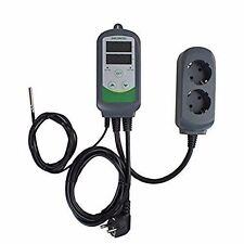 EU PLUG 240V ITC-308 Digital Temperature Controller thermostat plug in heat fan