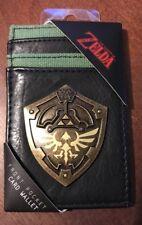 The Legend of Zelda Shield Card Holder Wallet Nintendo New