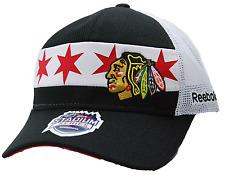 REEBOK VT01Z 2016 STADIUM SERIES SNAPBACK NHL HOCKEY CAP/HAT- CHICAGO BLACKHAWKS