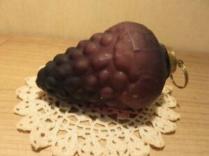 Ancienne boule de Noël grappe de raisin en verre